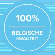 100% Belgische kwaliteit